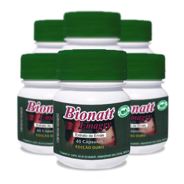 Bionatti Emagry 40 Cápsulas 6 Potes