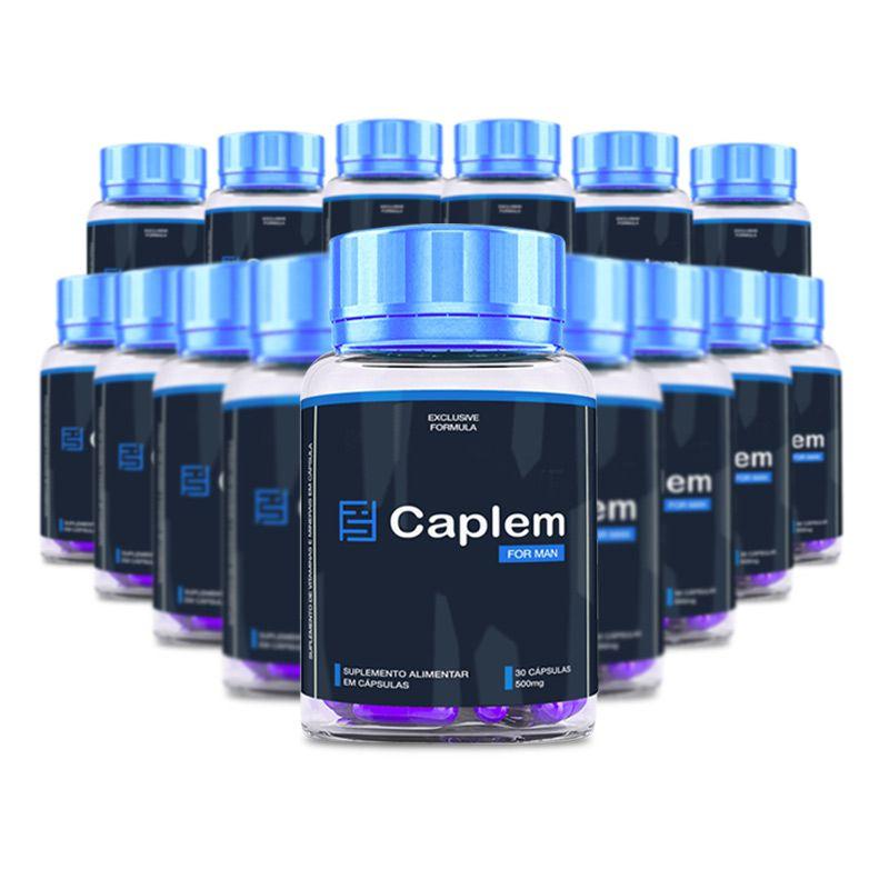 Caplem For Man 30 Cápsulas 15 Potes  - Composto Natural