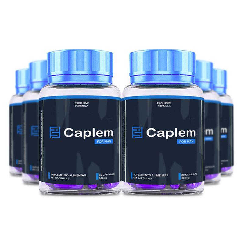 Caplem For Man 30 Cápsulas 6 Potes