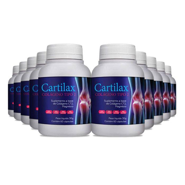 Cartilax Colágeno Tipo 2 - 10 Potes