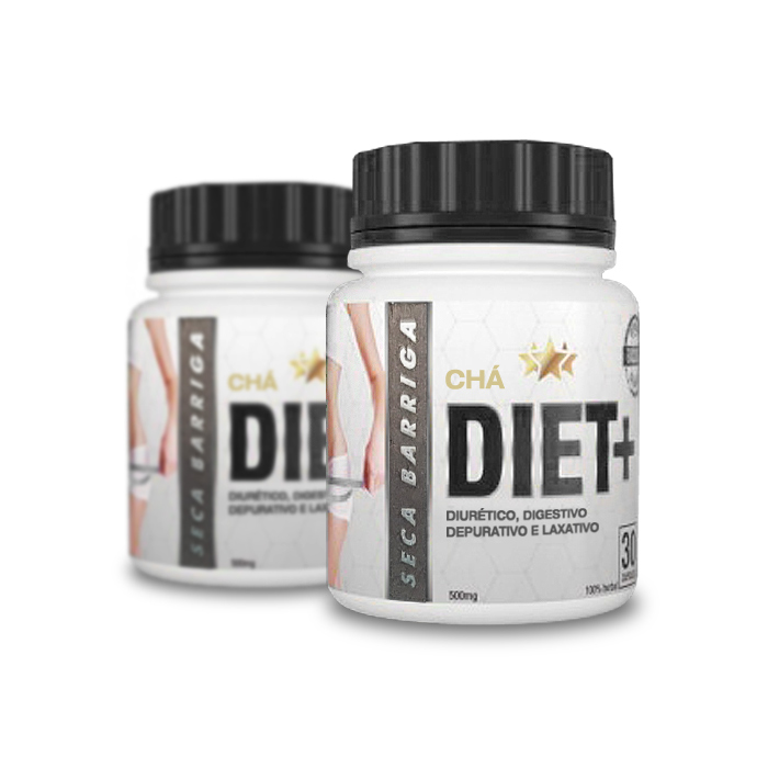 Chá Diet+ Seca Barriga 30 Cápsulas 2 Potes