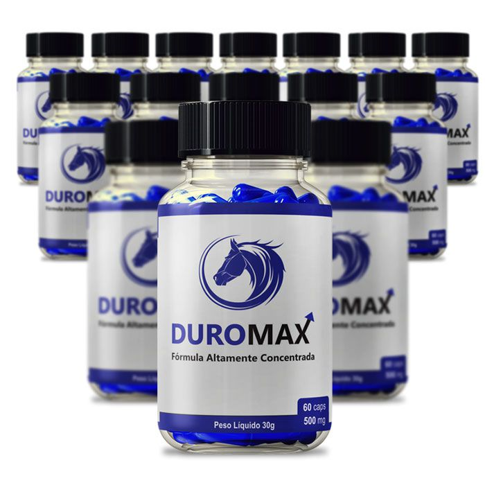 DuroMax 500 mg 60 Cápsulas 15 Potes