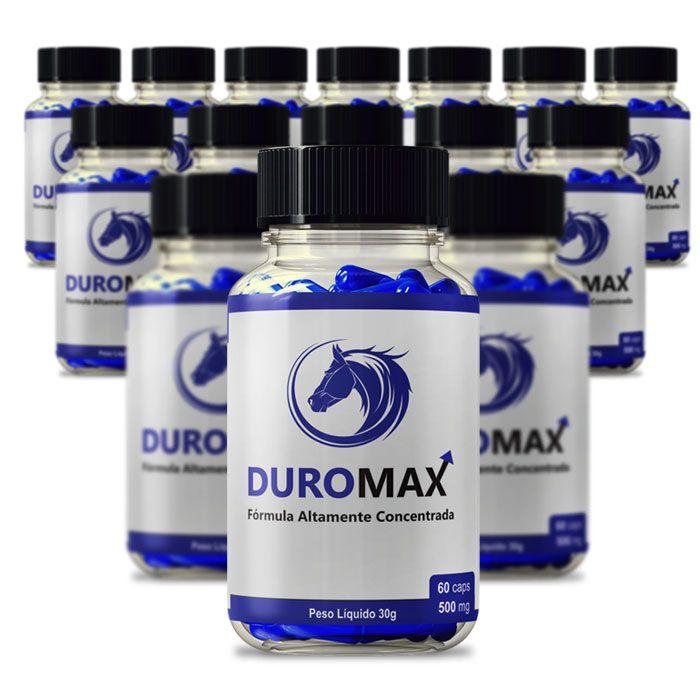 DuroMax 500 mg 60 Cápsulas 15 Potes  - Composto Natural