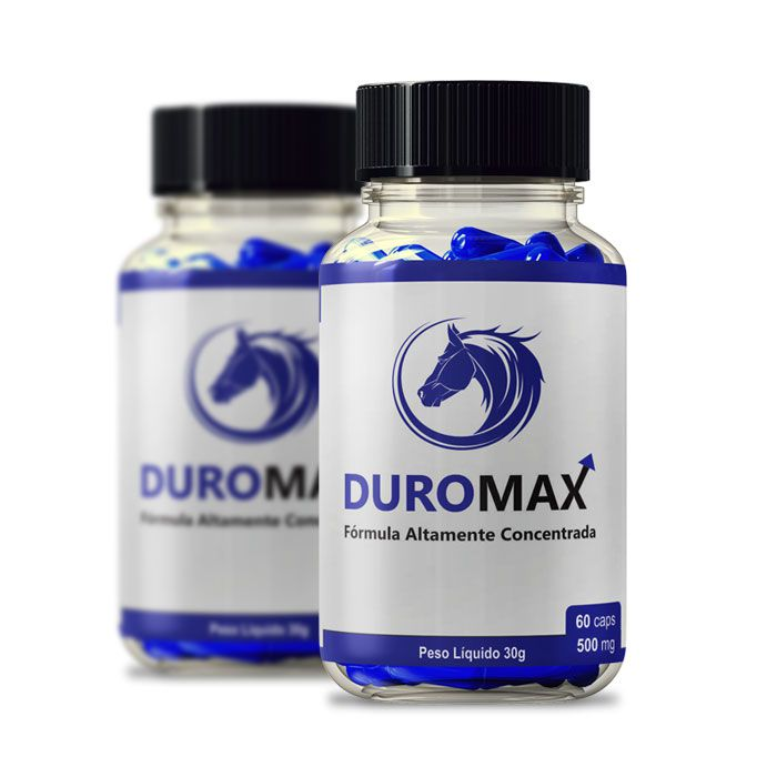 DuroMax 500 mg 60 Cápsulas 2 Potes  - Composto Natural