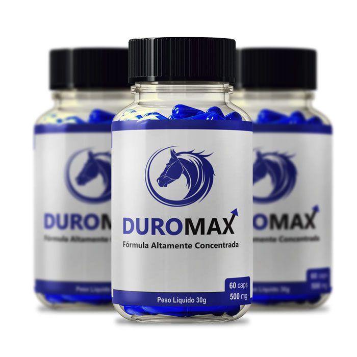 DuroMax 500 mg 60 Cápsulas 3 Potes  - Composto Natural