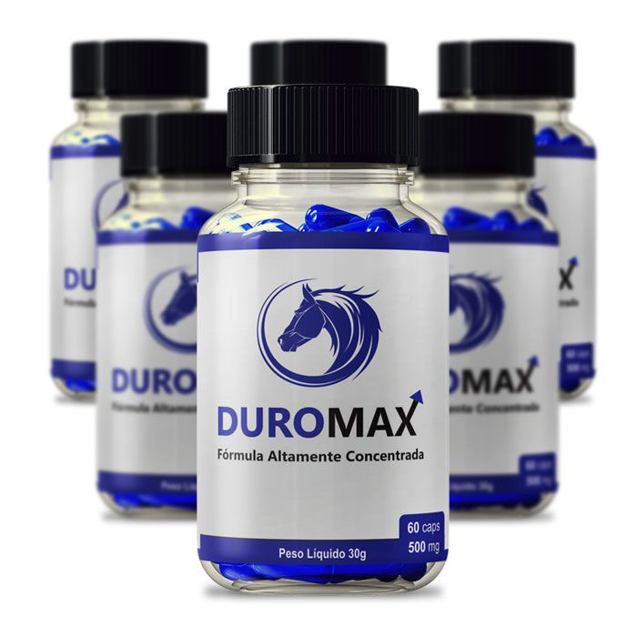 DuroMax 500 mg 60 Cápsulas 6 Potes  - Composto Natural