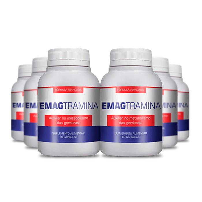 Emagtramina 60 Cápsulas 6 Potes  - Composto Natural