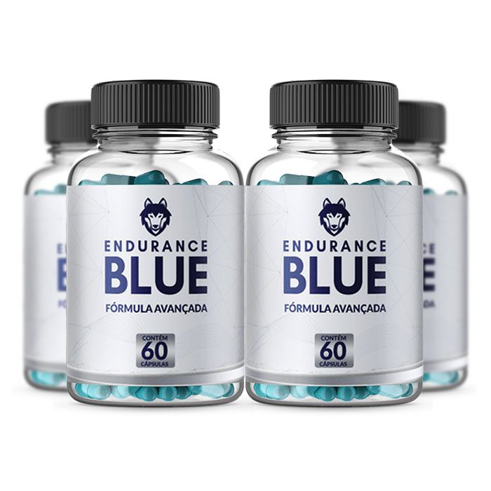 Endurance Blue 60 Cápsulas 4 Potes  - Composto Natural