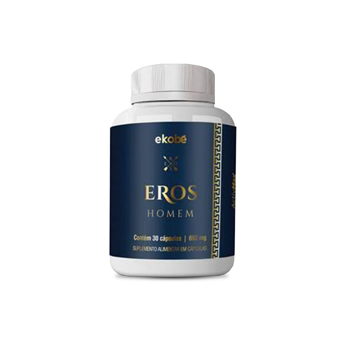 Eros Homem Ekobê 30 Caps   - Composto Natural