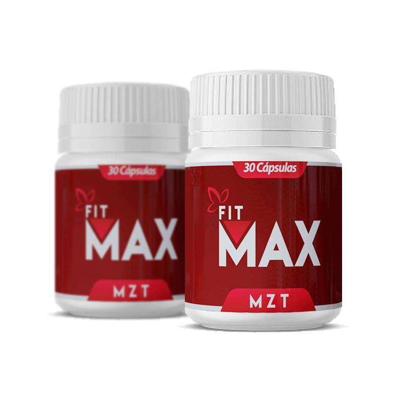 Fit Max MZT 2 Potes  - Composto Natural