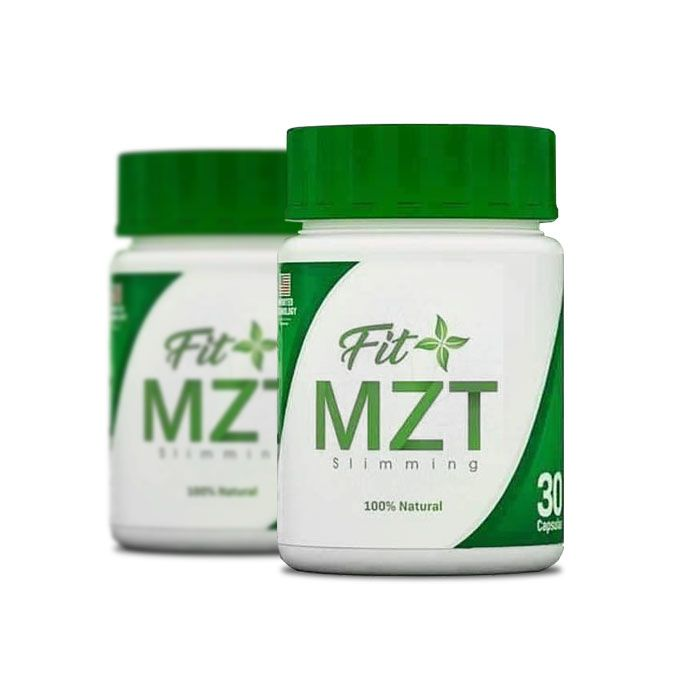 Fit MZT 30 Cápsulas 2 Potes  - Composto Natural