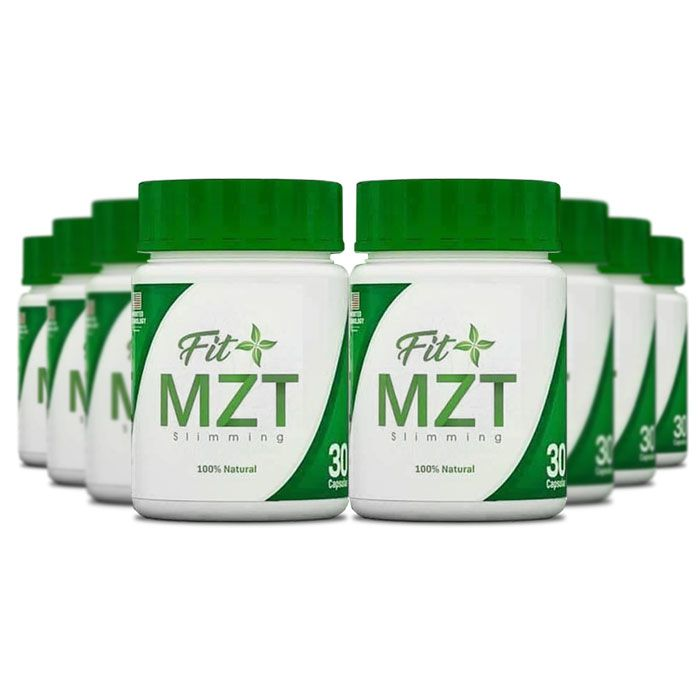 Fit MZT 30 Cápsulas 8 Potes  - Composto Natural