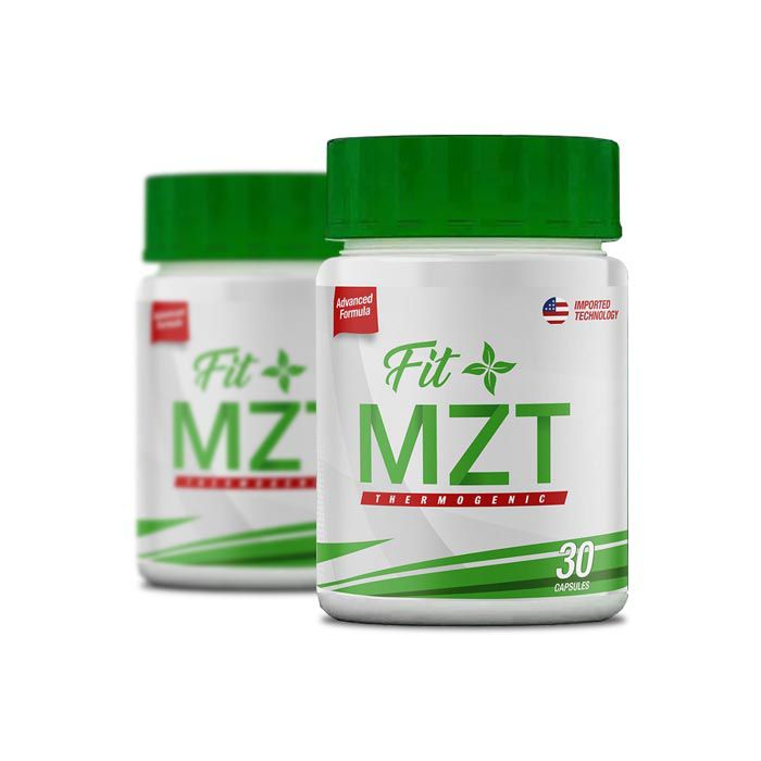 FIT MZT Slimming 30 Cápsulas 2 Potes  - Composto Natural