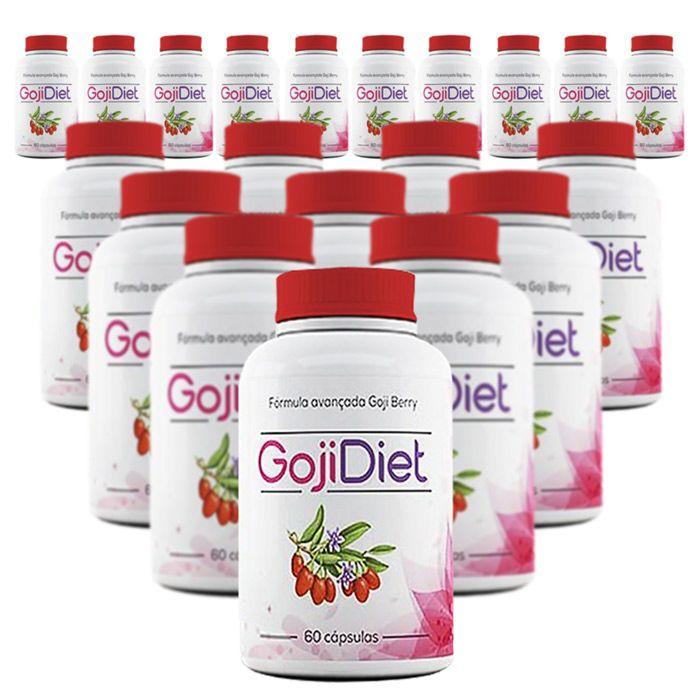 Goji Diet Original - 60 Cápsulas - Compre 10 e Leve 15  - Composto Natural