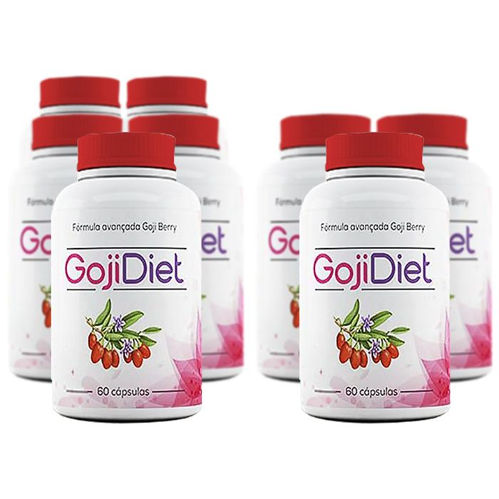 Goji Diet Original - Compre 5 Potes e leve 8  - Composto Natural