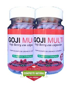 Goji Multi - 60 cápsulas - Combo 2 potes  - Composto Natural