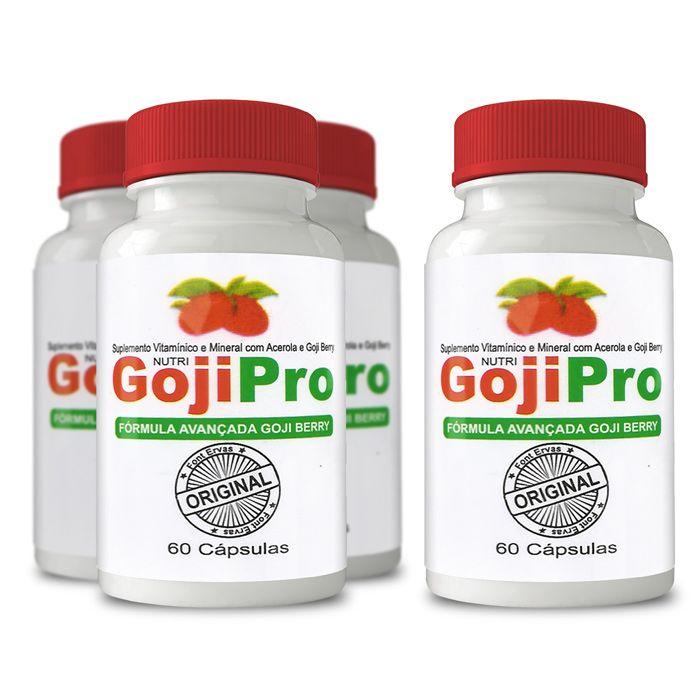 Goji Pro Original - Compre 3 leve 4 Potes  - Composto Natural