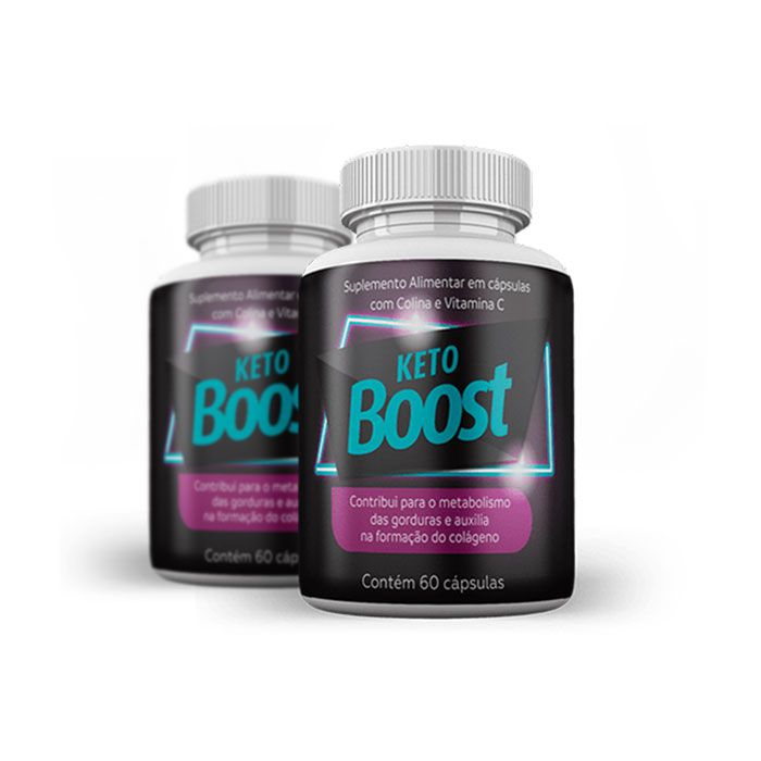 Keto Boost 60 Cápsulas 2 Potes  - Composto Natural