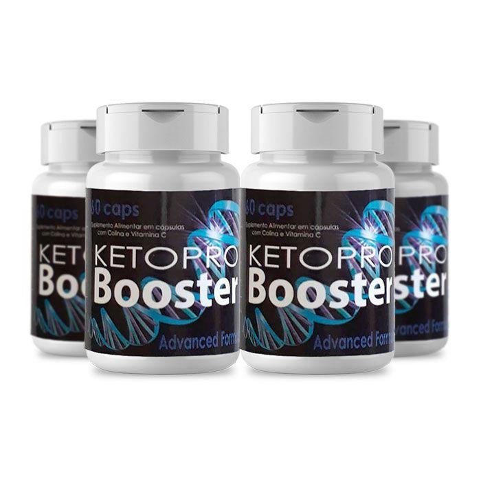 KetoPro Booster 60 Cápsulas - 4 Potes  - Composto Natural