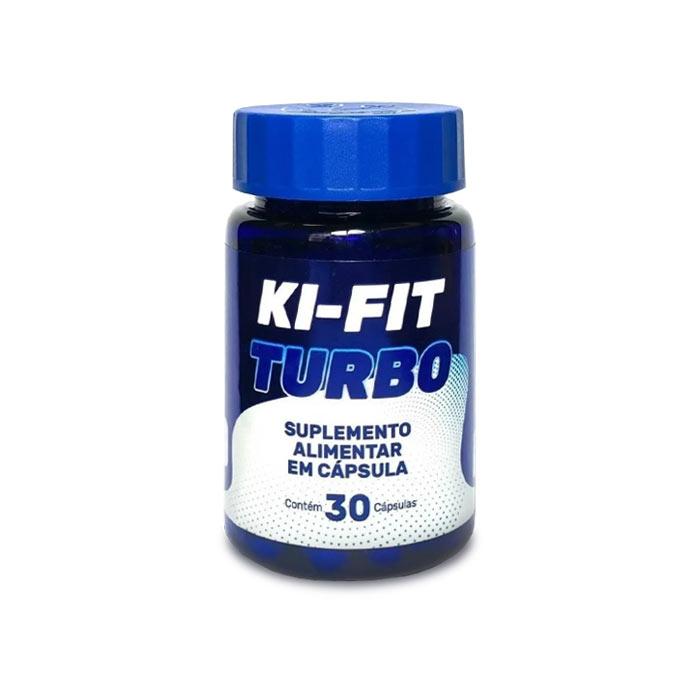 Ki-Fit Turbo 30 Cápsulas  - Composto Natural