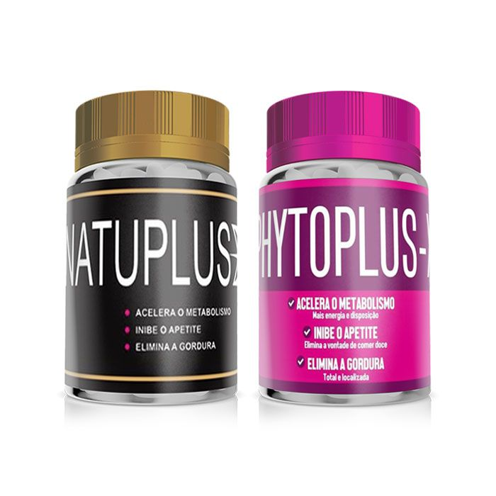 Kit Natuplus X Phytoplus X  - Composto Natural