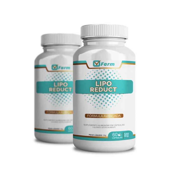 Lipo Reduct 60 Cápsulas 2 Potes  - Composto Natural