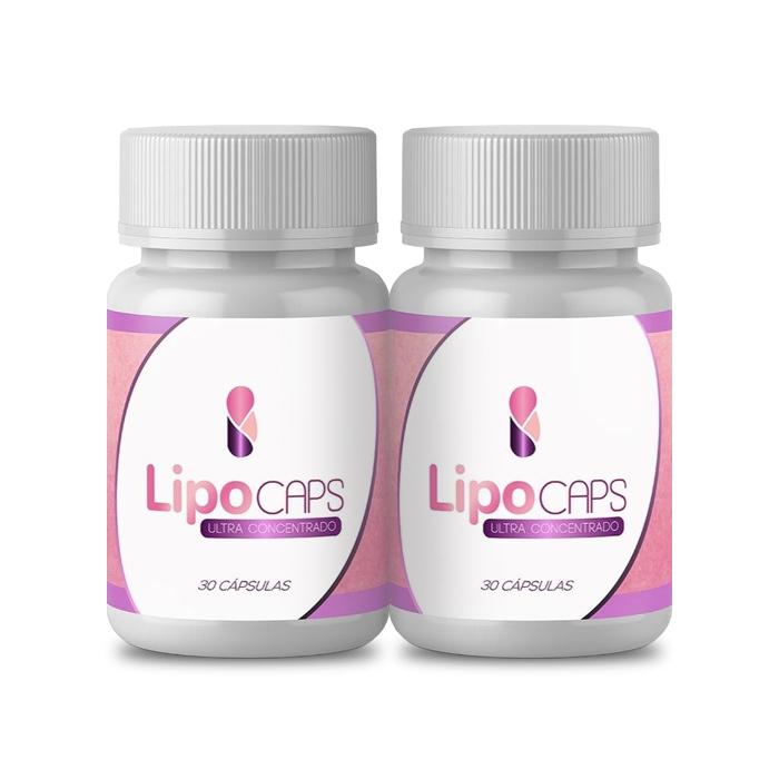 LipoCaps 30 Cápsulas 2 Potes