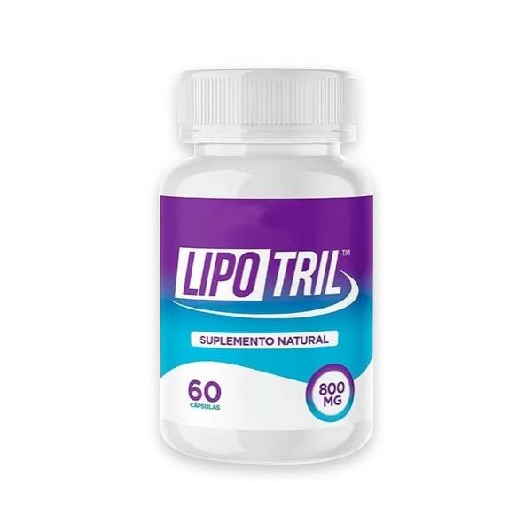 LipoTril - 60 Cápsulas - 800 Mg  - Composto Natural
