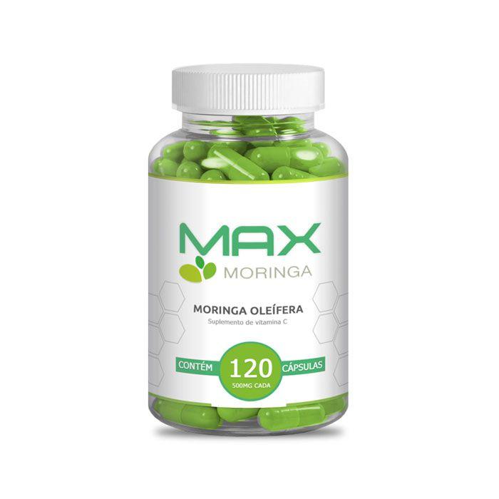 Max Moringa 120 Cápsulas