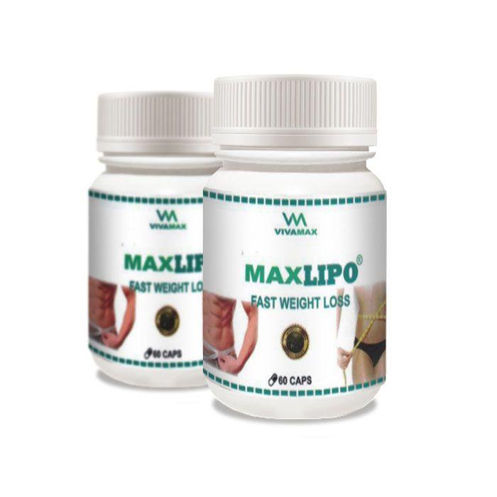 MaxLipo 60 Cápsulas 2 Potes  - Composto Natural