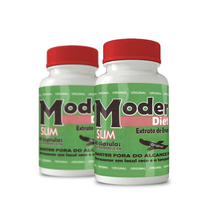 Moder Diet Slim ORIGINAL - Combo com 2 potes  - Composto Natural