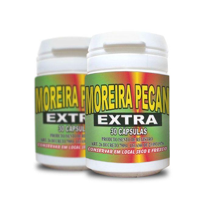 Moreira Pecan Extra 30 Cápsulas 2 Potes  - Composto Natural