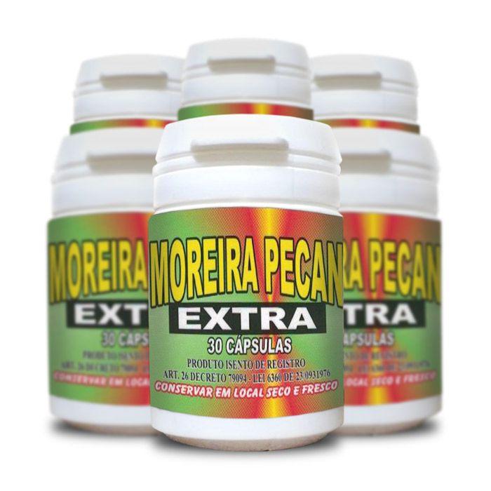 Moreira Pecan Extra 30 Cápsulas 6 Potes