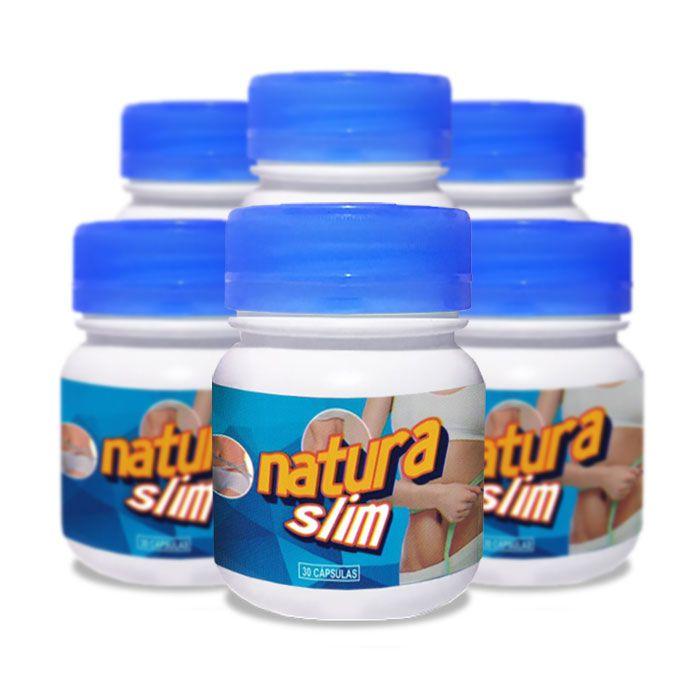 Natura Slim 30 Cápsulas 6 Potes  - Composto Natural