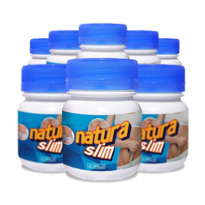 Natura Slim 30 Cápsulas 8 Potes  - Composto Natural