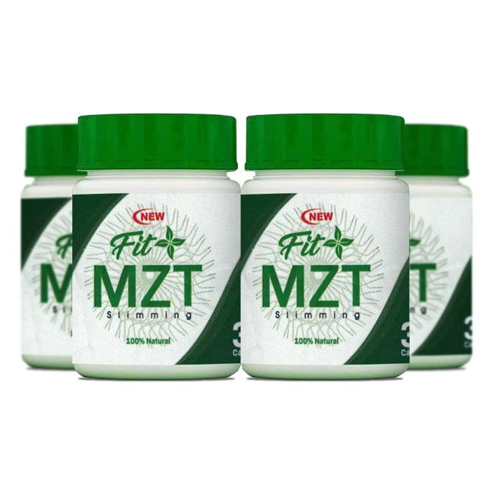 New Fit MZT 30 Cápsulas 4 Potes