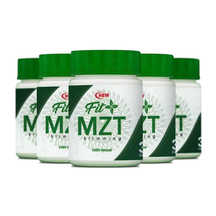 New Fit MZT 30 Cápsulas 5 Potes