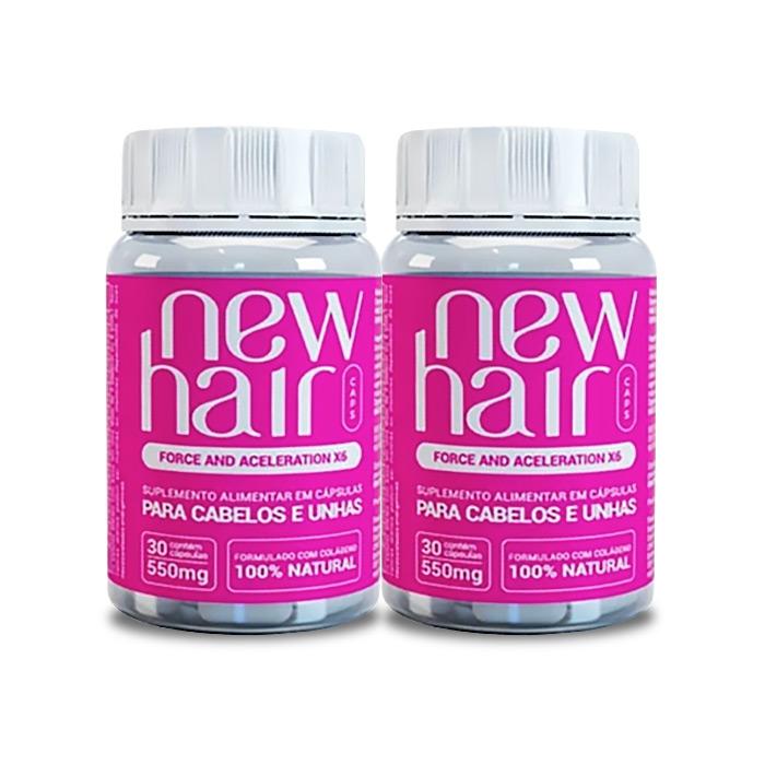 New Hair 30 Cápsulas 2 Potes