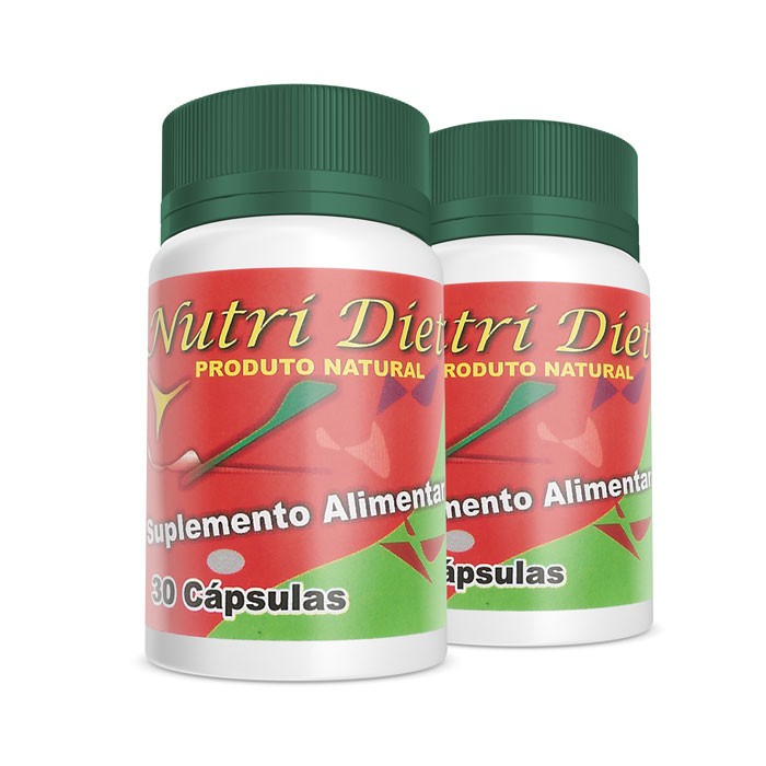 Nutri Diet - Combo 2 Potes  - Composto Natural