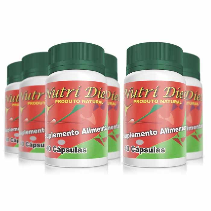 Nutri Diet - Pague 4 Leve 6 Potes  - Composto Natural
