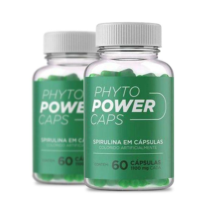 Phyto Power Caps 1100mg 60 Cápsulas 2 Potes