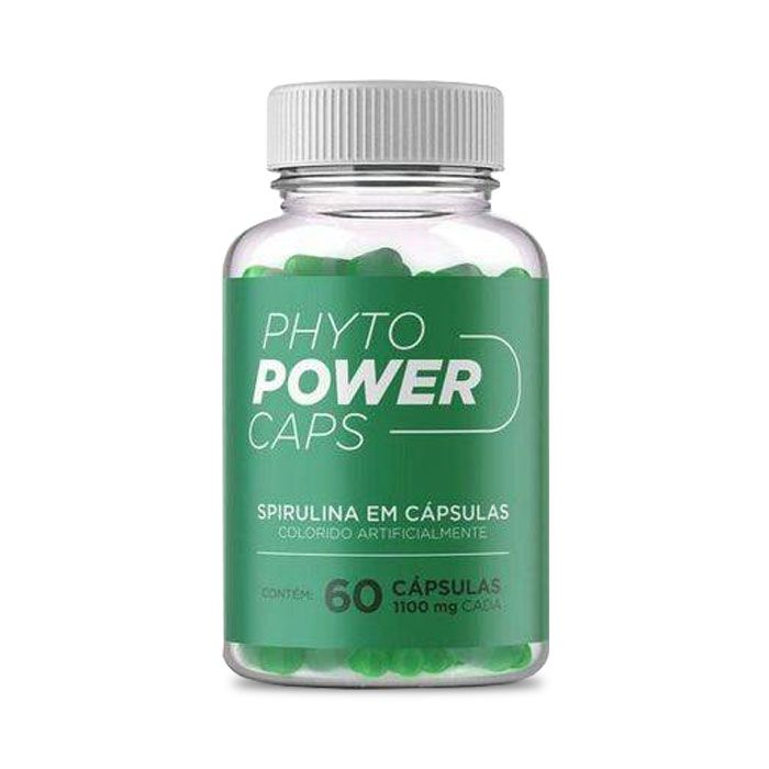 Phyto Power Caps 1100mg 60 Cápsulas  - Composto Natural