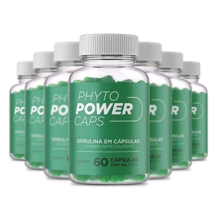 Phyto Power Caps 1100mg 60 Cápsulas 7 Potes