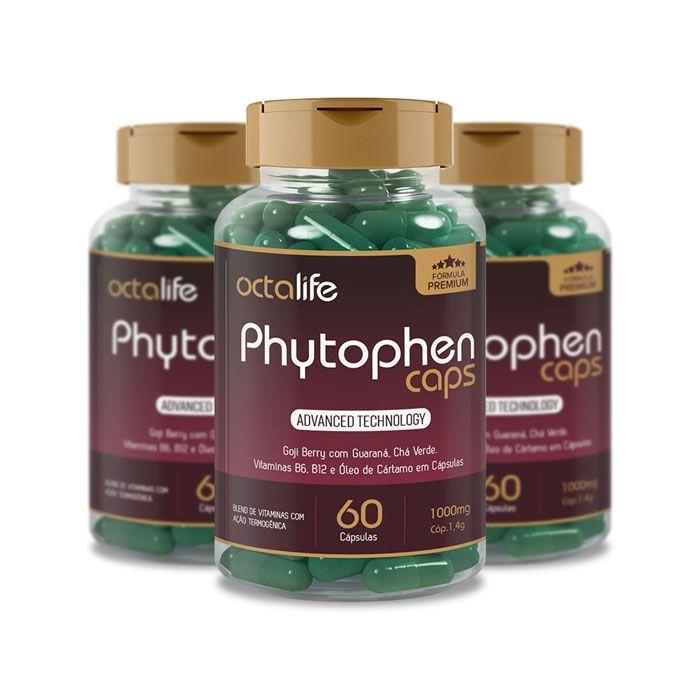 Phytophen Caps 60 Cápsulas 3 Potes
