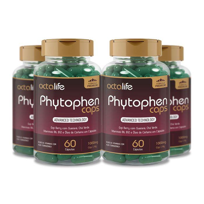 Phytophen Caps 60 Cápsulas 4 Potes