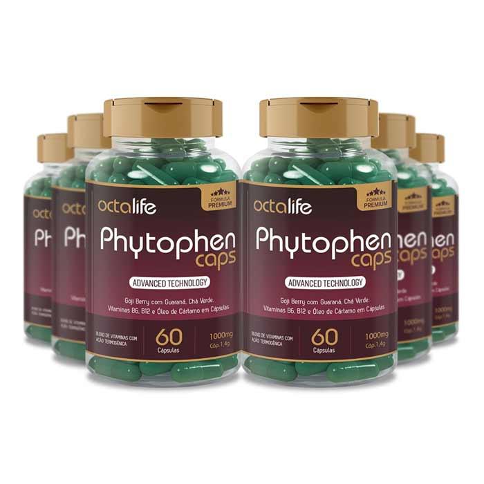 Phytophen Caps 60 Cápsulas 6 Potes