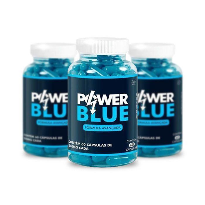 Power Blue 60 Cáps 3 Potes  - Composto Natural