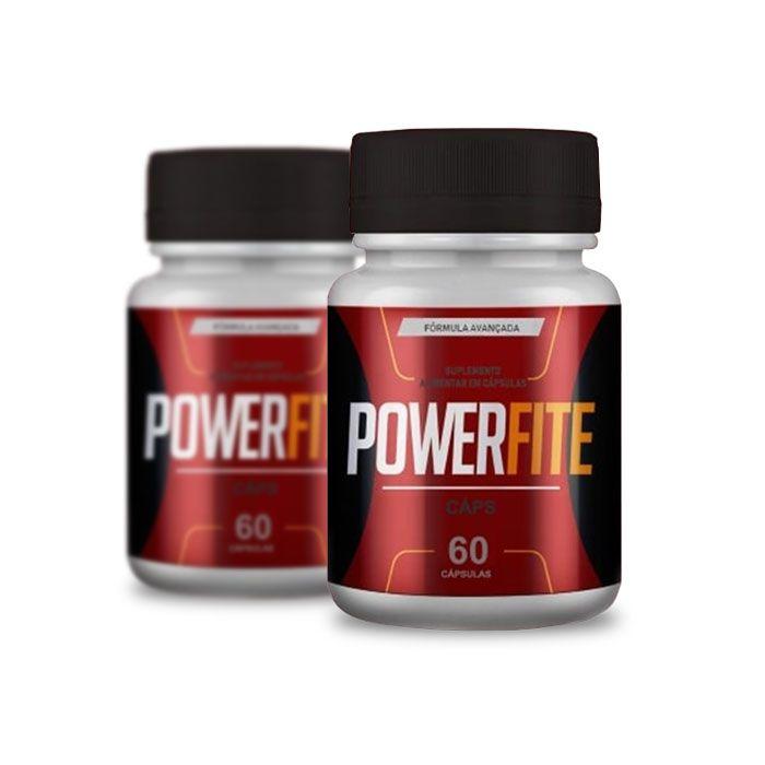 Powerfite 60 Cáps 2 Potes  - Composto Natural