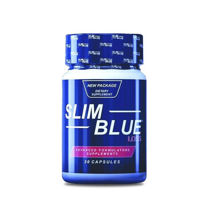 Slim Blue 60 Cápsulas  - Composto Natural