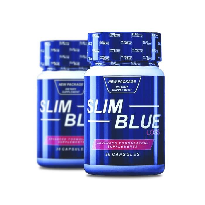 Slim Blue 60 Cápsulas 2 Potes